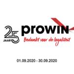 Vier met ons mee | proWIN Ria